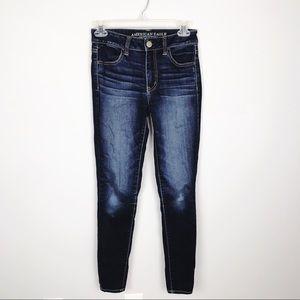 AEO High-Rise Super Stretch Jegging Jeans
